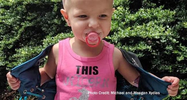 Meet Kenni, a 'Little Spitfire' Who's Cancer-Free